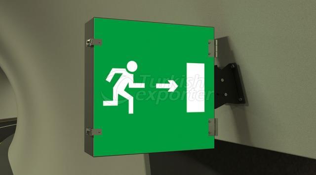 sinais de saída