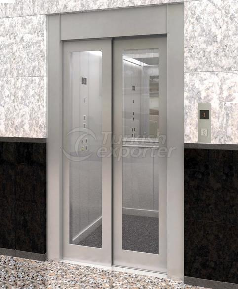 Glass Doors with Frame