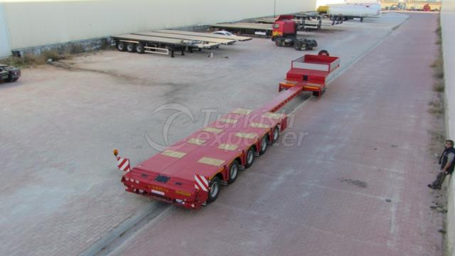 5 Axel Lowbed Semi Trailer