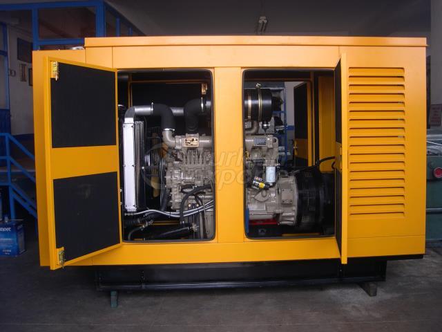 Groupes électrogènes diesel série SGF