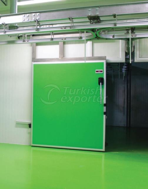 Cold Storage Doors Monorail