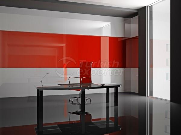 Sisecam Lacquered Glass