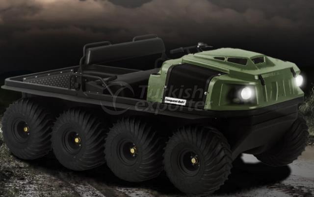 Argo Amphibious Conquête des véhicules 8x8XTI