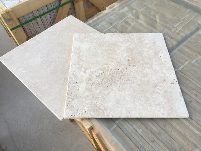 Light Travertine Tumbled Tiles