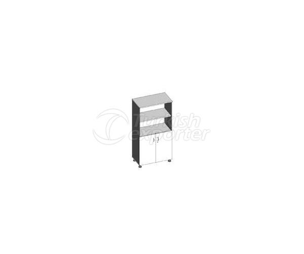 Cabinet E.157AS 80x44x157h