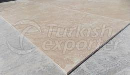 Tile - Travertine Light - Filled And Tumbled