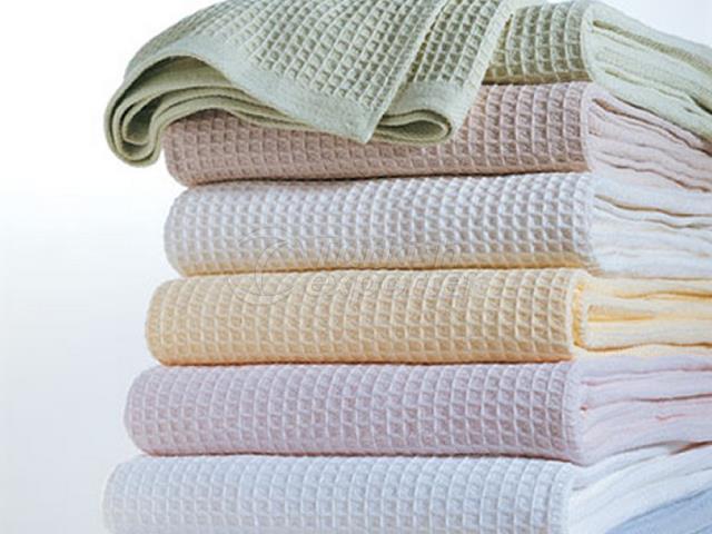Plain Color Waffle Fabric