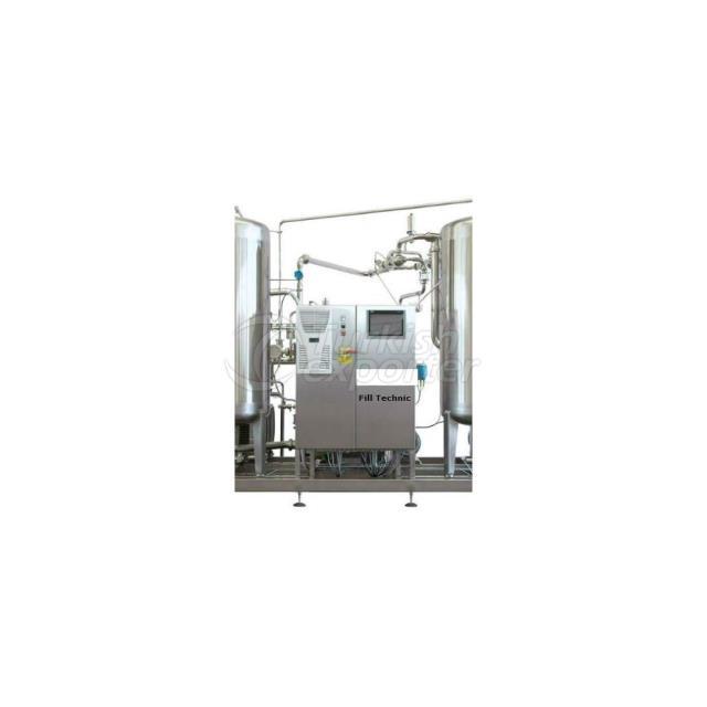 Gas Syrup Preparation Unit