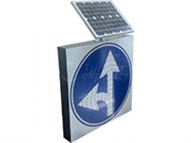 إشارات المرور الشمسية
