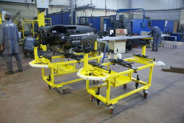 Renault Moscow linha de montagem de equipamentos