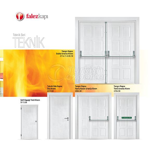 خروج النار والأبواب التقنية