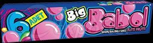 Big Babol Tutti Frutti 6pcs
