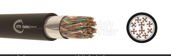 Outdoor Telephone Cables -KPDF-AP - A-02YSF(L)2Y