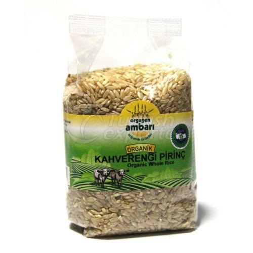 Organic Brown Rice 1000 Gr
