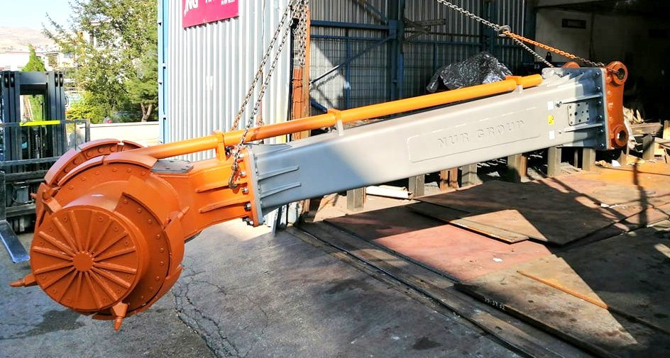 Excavator Mixing Head -Stabilization System for Excavator