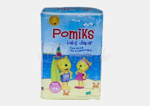 Baby Diaper POMIKS 4 MAXI TWIN