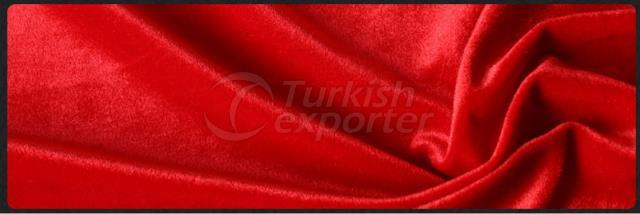 Tecido de veludo - vermelho