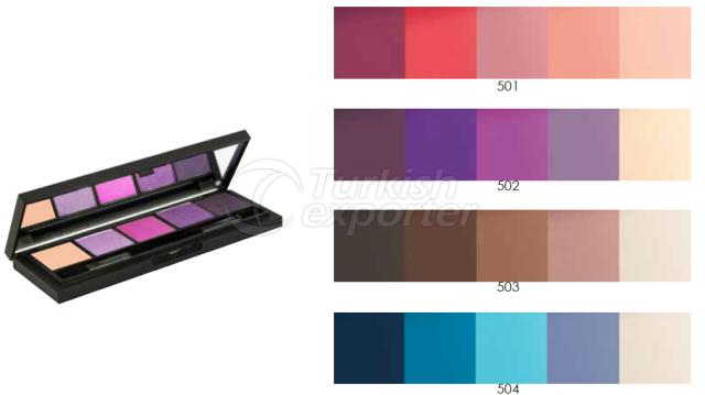 5 Colors Rich Palette Eyeshadow Carla