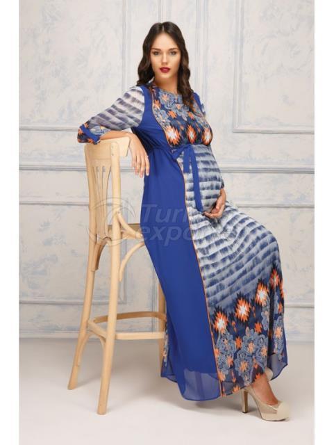 Wind pattern siphon Dress