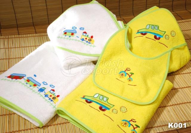 Bebek Havlu Takımı K001