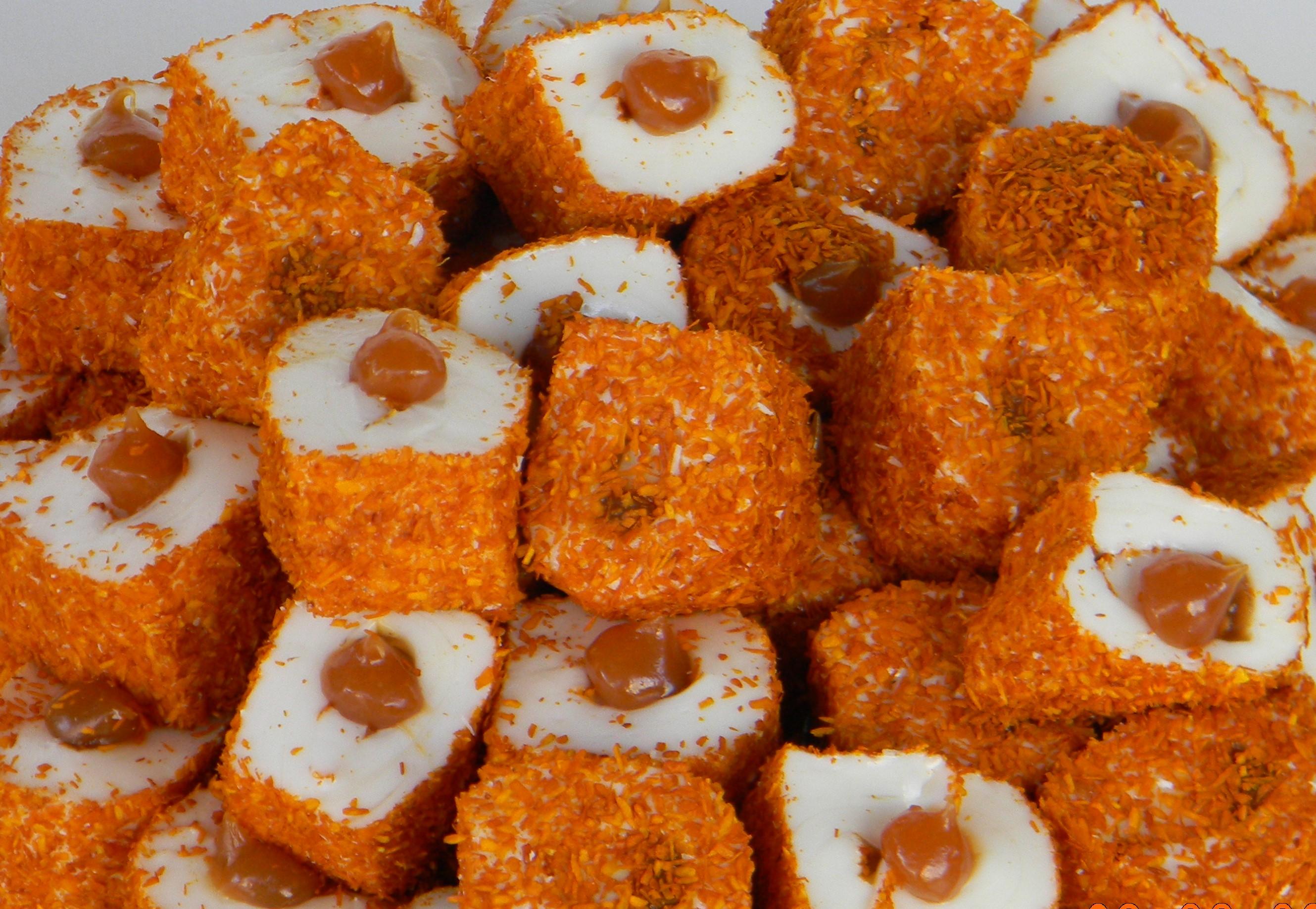 Caramel Stuffed Turkish Delight