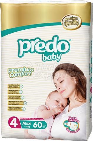 Baby Diapers Predo Jumbo Midi