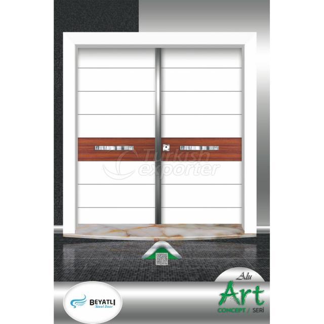 Çelik Kapı - ALU 102