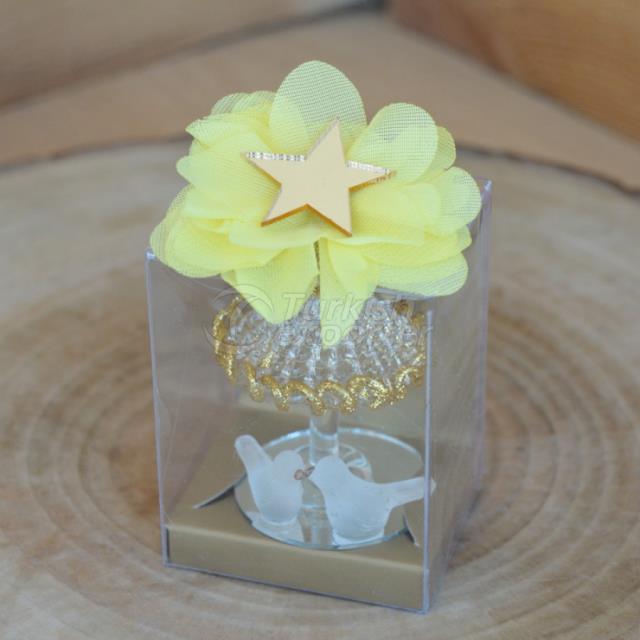 Gift Bird Crystal Glass Decoration