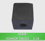 ELEVATOR WEDGE ( RUBBER ) SMALL