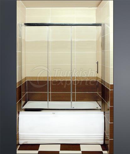 Shower and Bathtub Cabins A-4813Kuvet Ustu