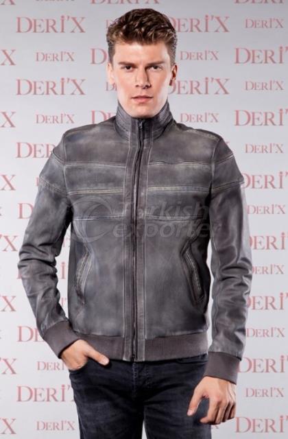 Leather Jackets 7784 E Gri