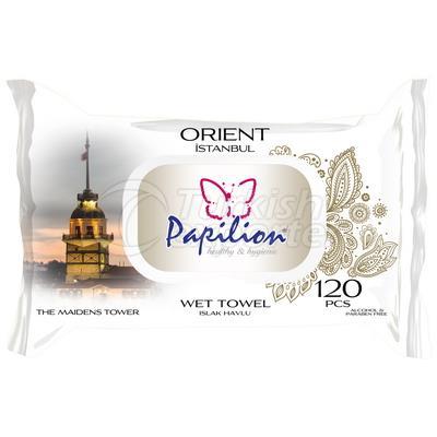 PAPILION ORIENT WET TOWELS 120