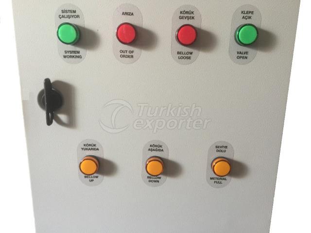 Panel de distribución eléctrica