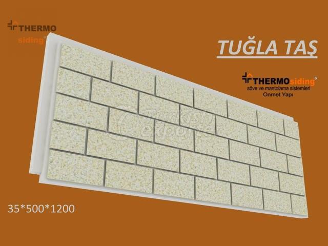 Brick Patterned Cladding