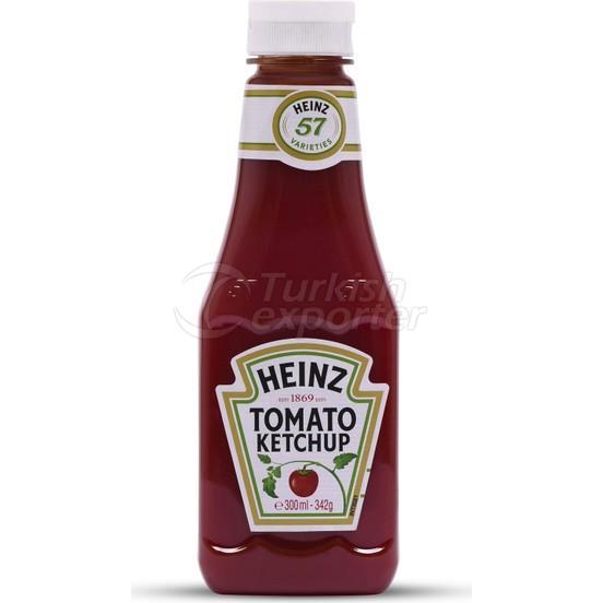 Heinz Ketchup Botella De Plástico 342gr