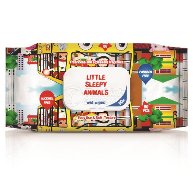 Un1024 - Little Sleepy Animals 90pcs.