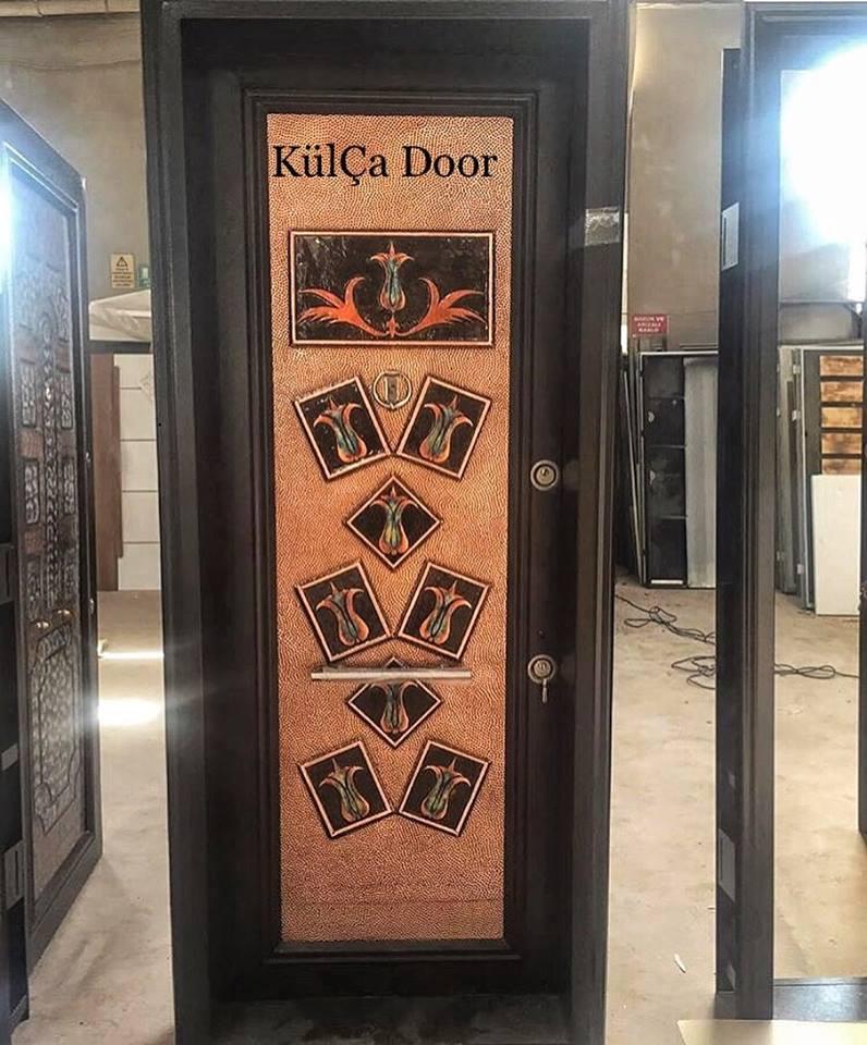 copper coating steel security  door