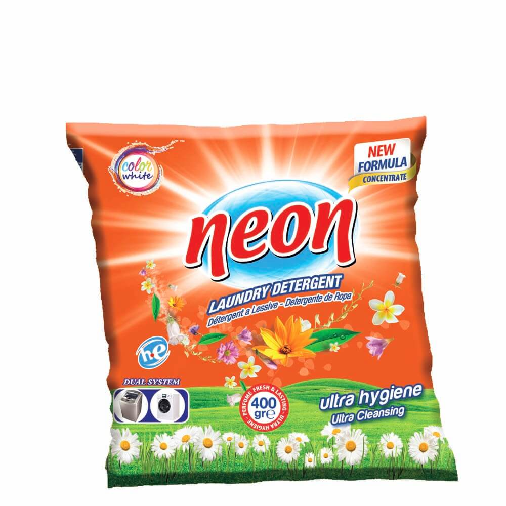 Neon Laundry detergent 400 gr 1 kg 2 kg