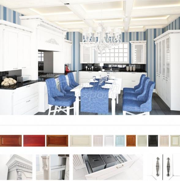 Mobília de cozinha-Decoração País