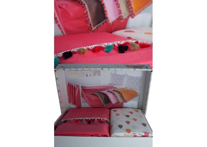 Pique Set Mercan Pompon 916