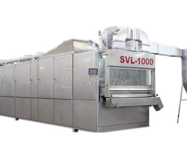 Fornos de secagem e torrefação SVL1000