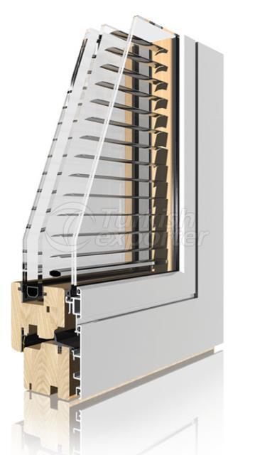 Wooden Aluminum Window and Door Systems -Verbund