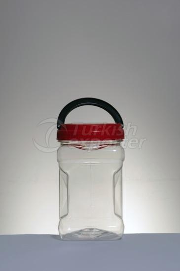 Bocaux en plastique 1700 cc