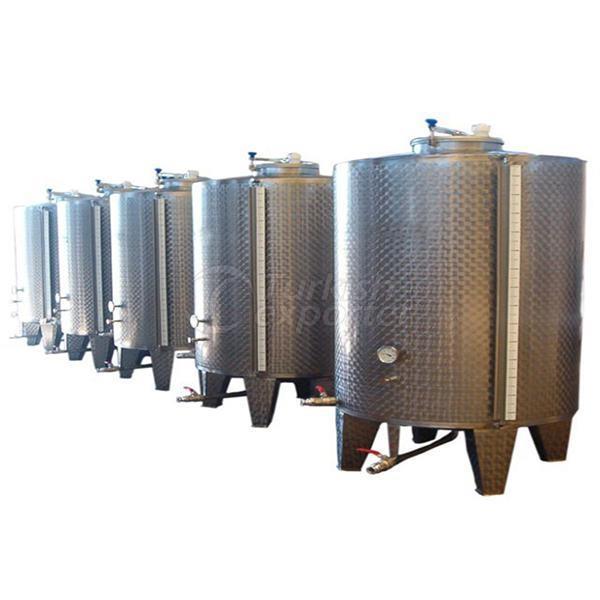 Tahini Stock Tank With Mixer
