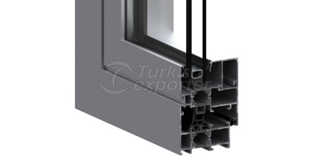 EW-55 Insulated Door and Window System