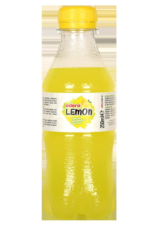 Carbonated Drinks Soft Drinks Lemon Flavor Sparkling Beverages 250 ml Pet Fresh