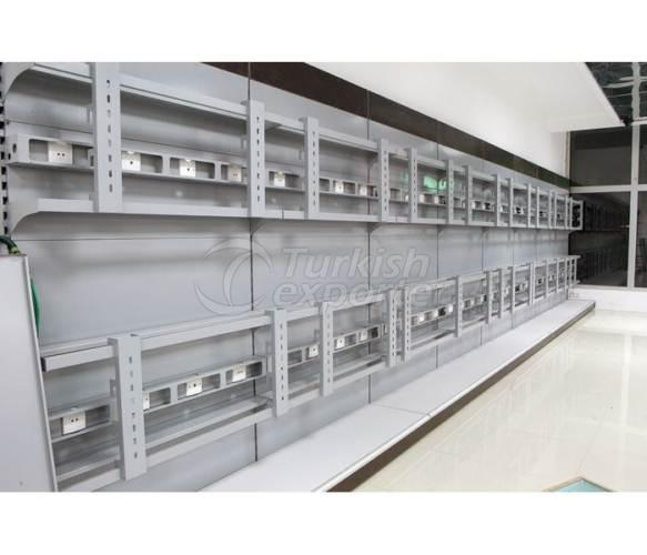 Electronic Material Shelf Systems