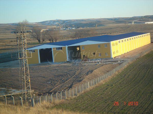 مصنع في منطقة كول باشي انقرة