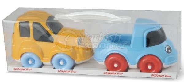 Cars 2 in 1 Tombik