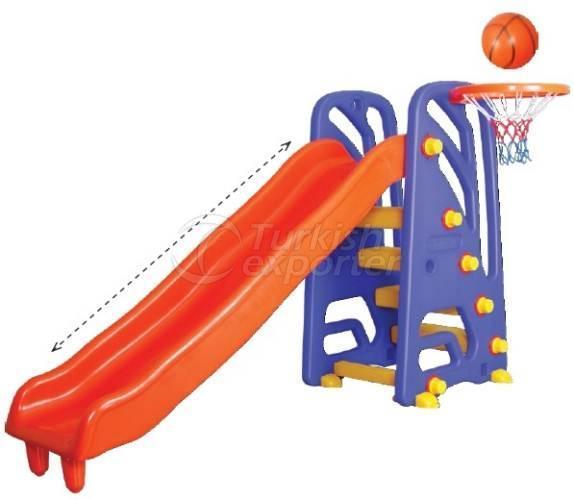 Wavy Slide And Basketball